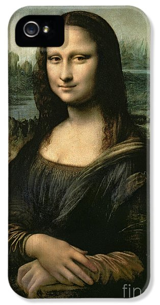 Portraits iPhone 5 Case - Mona Lisa by Leonardo da Vinci
