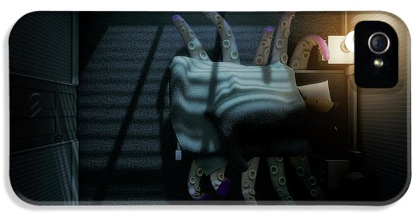 Monster Under The Bed IPhone 5 Case