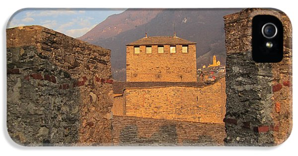 Montebello - Bellinzona, Switzerland IPhone 5 Case by Travel Pics