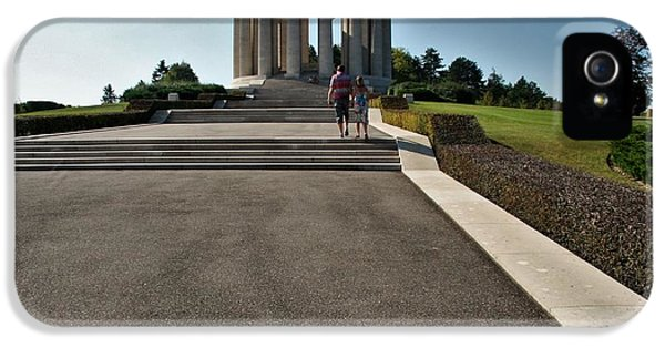Montsec American Monument IPhone 5 Case by Travel Pics