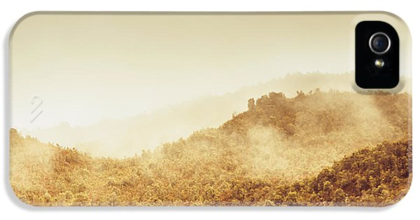 Mount Rushmore iPhone 5 Case - Moody Mountain Morning by Jorgo Photography - Wall Art Gallery