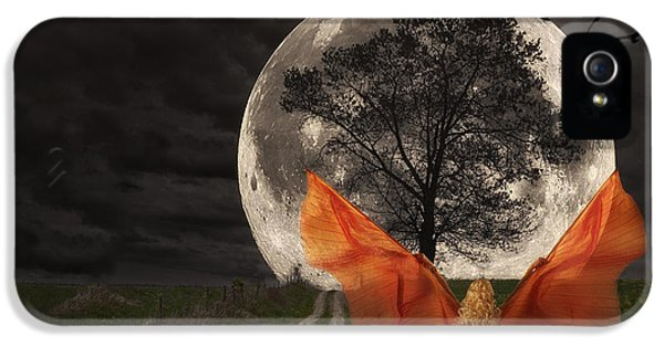 Moon Goddess IPhone 5 Case by Tom Mc Nemar