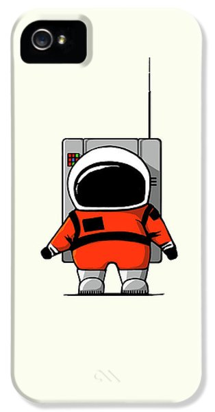 Moon Man IPhone 5 Case by Nicholas Ely
