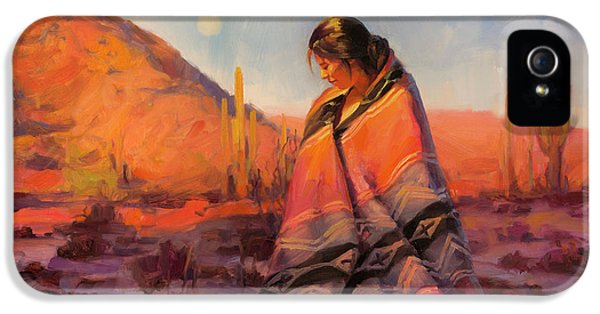 Magician iPhone 5 Case - Moon Rising by Steve Henderson