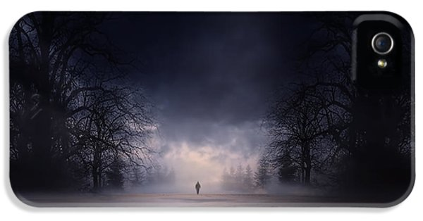Moonlight Journey IPhone 5 Case by Lourry Legarde