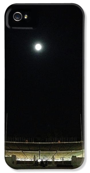 Moonlighting In Ancient Athens  IPhone 5 Case by Clay Cofer