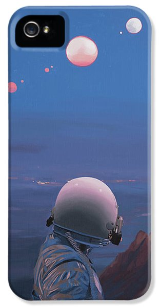 Moons IPhone 5 Case by Scott Listfield