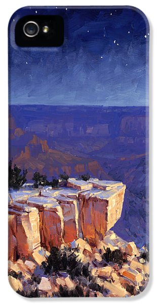 Grand Canyon iPhone 5 Case - Moran Nocturne by Cody DeLong