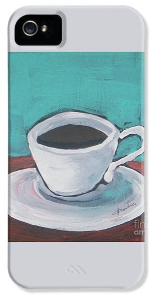Morning Coffee IPhone 5 Case by Vesna Antic
