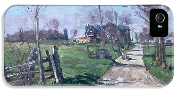 Morning In The Farm Georgetown IPhone 5 Case by Ylli Haruni