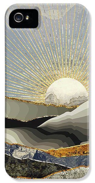 Landscapes iPhone 5 Case - Morning Sun by Katherine Smit