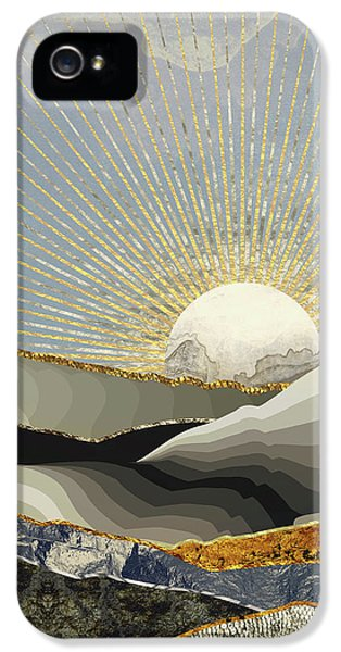 Landscapes iPhone 5 Case - Morning Sun by Katherine Smit