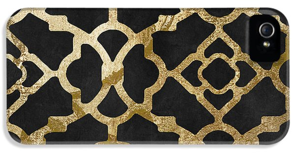 Moroccan Gold IIi IPhone 5 Case by Mindy Sommers