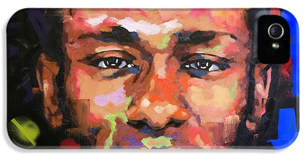 Jay Z iPhone 5 Case - Mos Def by Richard Day