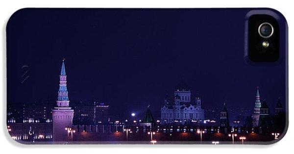 Moscow Skyline iPhone 5 Case - Moscow Kremlin by Margarita Buslaeva