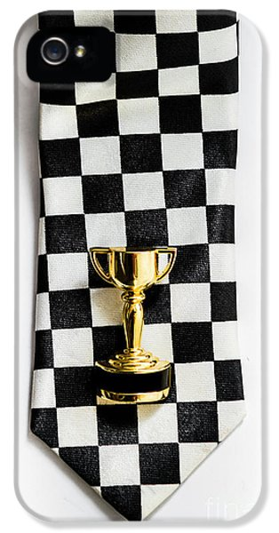 Motor Sport Racing Tie And Trophy IPhone 5 Case by Jorgo Photography - Wall Art Gallery