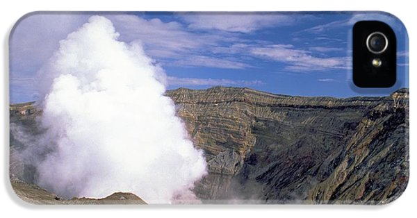 Mount Aso IPhone 5 Case by Travel Pics