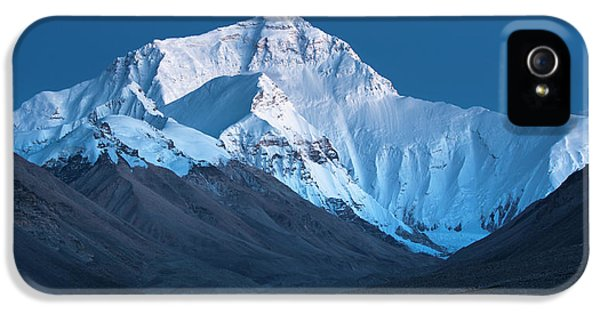 Mount Everest At Blue Hour, Rongbuk, 2007 IPhone 5 Case