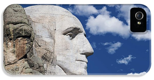 Mount Rushmore Profile Of George Washington IPhone 5 Case