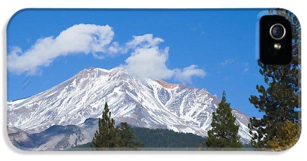 Mount Shasta California IPhone 5 Case