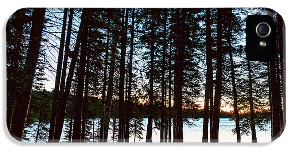 IPhone 5 Case featuring the photograph Mountain Forest Lake by James BO Insogna