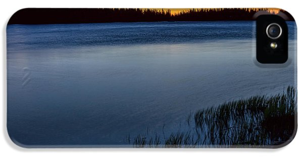 IPhone 5 Case featuring the photograph Mountain Lake Glow by James BO Insogna