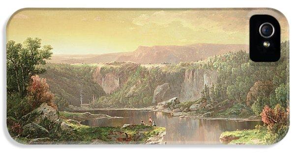 Mountain Lake Near Piedmont IPhone 5 Case