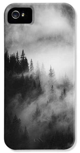 Mountain Whispers IPhone 5 Case by Mike  Dawson