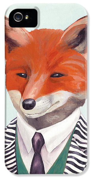 Mr Fox IPhone 5 Case