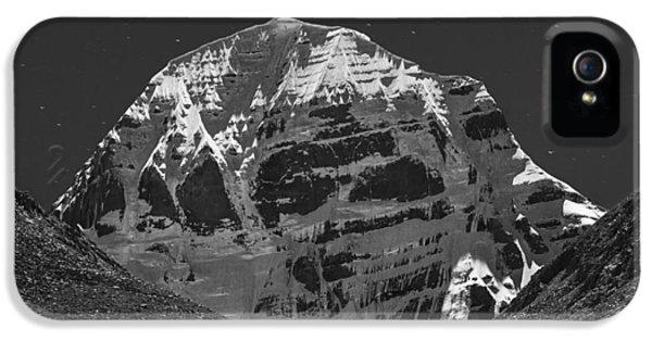 Mt. Kailash In Moonlight, Dirapuk, 2011 IPhone 5 Case