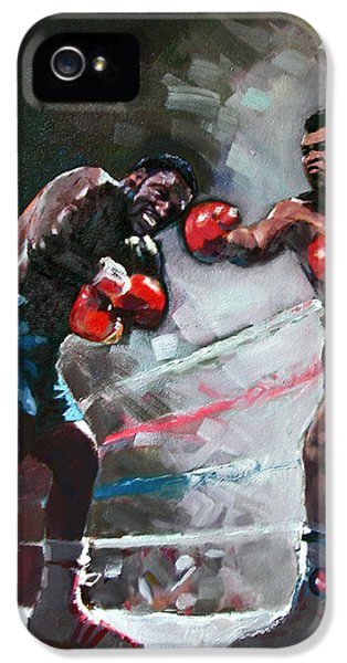 Muhammad Ali And Joe Frazier IPhone 5 Case