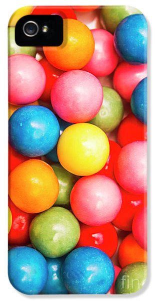 Multi Colored Gumballs. Sweets Background IPhone 5 Case by Jorgo Photography - Wall Art Gallery