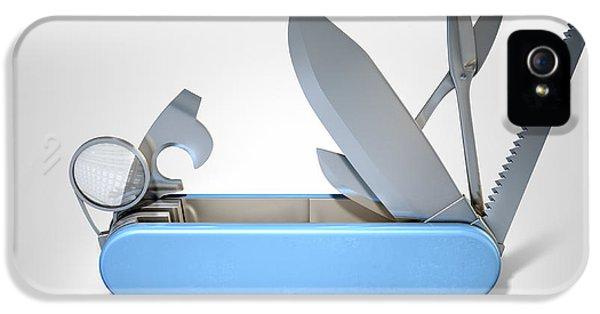 Multipurpose Penknife IPhone 5 Case by Allan Swart