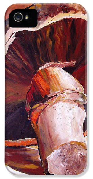 Mushroom Still Life IPhone 5 Case by Toni Grote