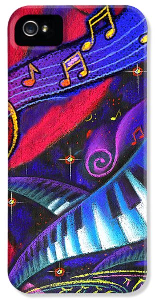 Music And Harmony IPhone 5 Case by Leon Zernitsky