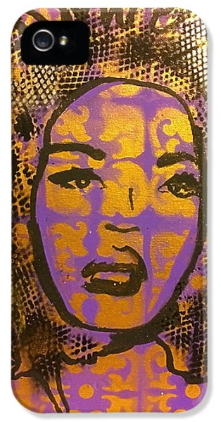 Music Mother  IPhone 5 Case by Miriam Moran