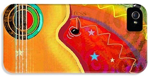 Design iPhone 5 Case - Musical Whimsy Painting By Svetlana by Svetlana Novikova