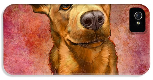 Portraits iPhone 5 Case - My Buddy by Sean ODaniels
