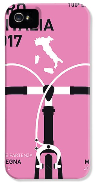 My Giro Ditalia Minimal Poster 2017 IPhone 5 Case by Chungkong Art