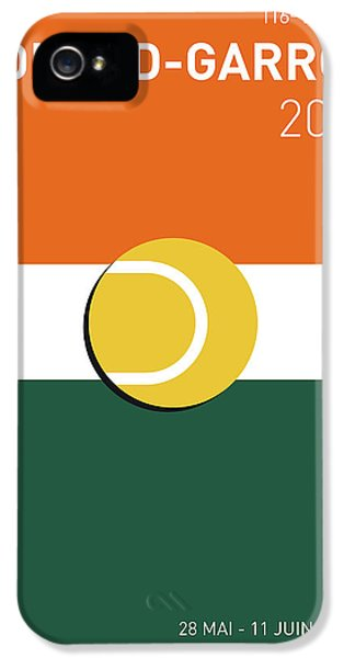 My Grand Slam 02 Rolandgarros 2017 Minimal Poster IPhone 5 Case