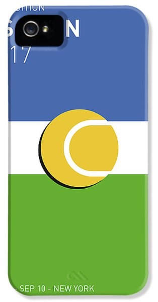 My Grand Slam 04 Us Open 2017 Minimal Poster IPhone 5 Case by Chungkong Art