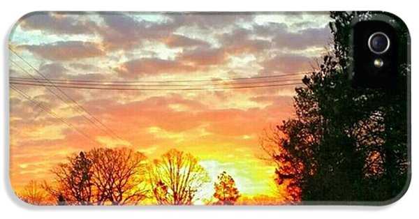 iPhone 5 Case - My View Of The Sunrise This by Robin Mead