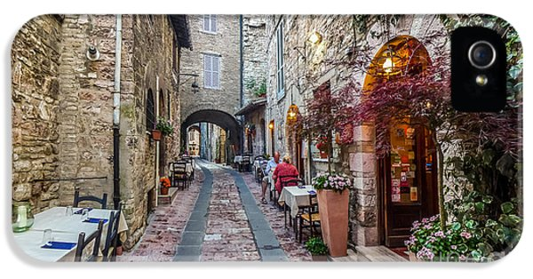 Mysterious Alleyway In Ancient European Town IPhone 5 Case by JR Photography
