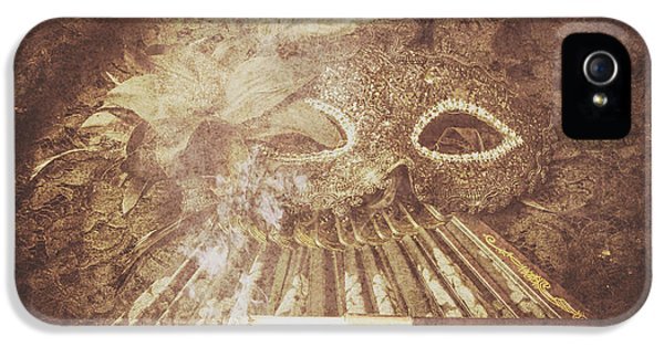 Mysterious Vintage Masquerade IPhone 5 Case by Jorgo Photography - Wall Art Gallery