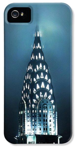 Chrysler Building iPhone 5 Case - Mystical Spires by Az Jackson