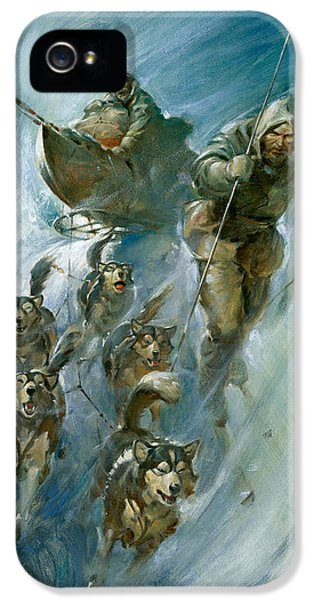 Nansen Conqueror Of The Arctic Ice IPhone 5 Case