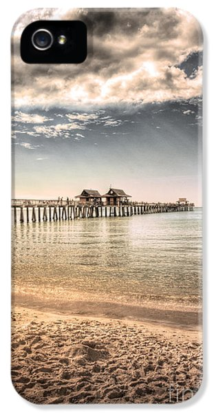 Daytime iPhone 5 Cases - Naples Pier iPhone 5 Case by Margie Hurwich