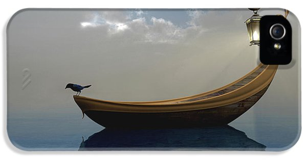 Boat iPhone 5 Case - Narcissism by Cynthia Decker
