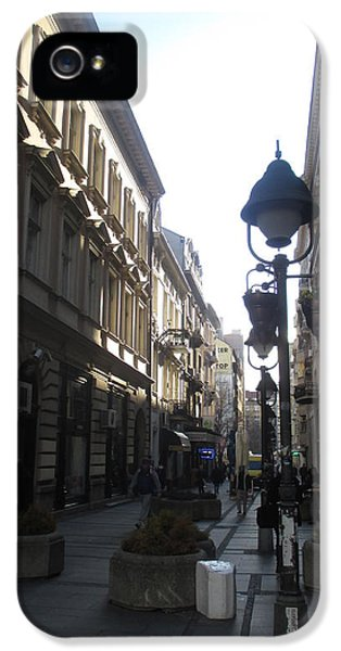 Sunny iPhone 5 Case - Narrow Street by Anamarija Marinovic