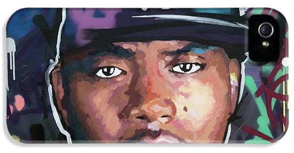 Nas IPhone 5 Case by Richard Day